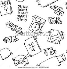 stock vector storage information set memory seamless pattern background template vector stock illustration 429750400 storage device stock images, royalty free images & vectors on mobile device management policy template