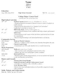 College Application Resume Examples Custom Student Resume Examples College Applications Of Resumes For Samples