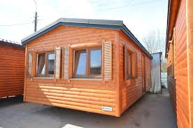 Mobile Home Log Cabins Holiday Mobile Home 8x4m Log House Wooden Holiday Cottage