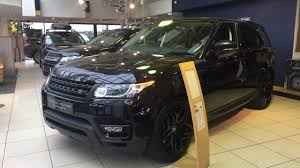 2018 land rover black. contemporary land 2017 range rover sport black edition  exterior and interior review  youtube throughout 2018 land rover black