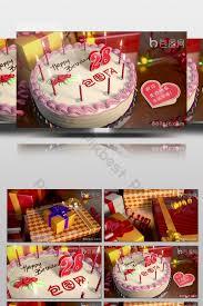 Beautiful Birthday Cake Birthday Gift Blessing Video Video