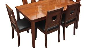 teak wood dining set in a stylish design make as per your size you