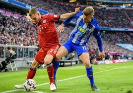 Auch am letzten spieltag hat der bvb heimrecht, wenn am 14. Bundesliga Fc Bayern Eroffnet Saison Gegen Hertha Bsc Sport Idowa