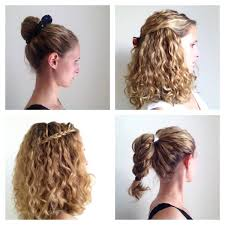 Hairstyle Easy Curly Hair And More Photo Medium Trendy Thin Long