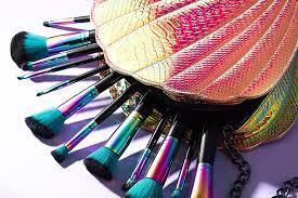 spectrum brushes mermaid. unleash your inner ariel with these new mermaid-worthy launches spectrum brushes mermaid