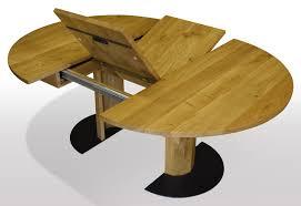 Runder Tisch Nach Mass Aus Eiche Massiv Ausziehbar Per