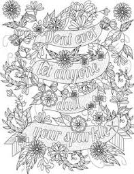 free coloring pages adults. Delighful Pages Free Inspirational Quote Adult Coloring Book Image From LiltKids Com Best  Of Pages  Gamz Intended Adults G
