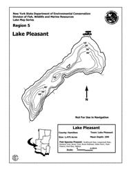 Lake Pleasant Az Depth Chart Lake Pleasant Nys Dept Of Environmental Conservation