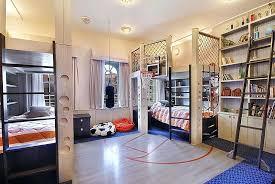 basketball court bedroom kids interior design decoration ideas for