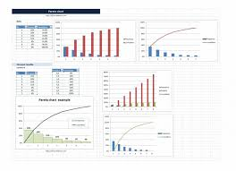 020 Template Ideas Pareto Chart Staggering Excel Free