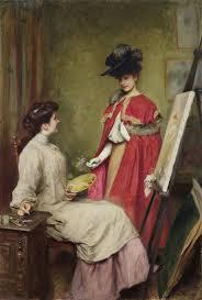Émile Friant (French, 1863-1932) L'arrivée du modèle | Friant, Artists and  models, Portrait painting
