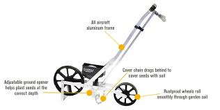 features for earthway precision garden seeder model 1001b