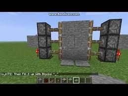 minecraft xbox lockable piston doors