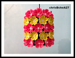 appealing diy chandelier made of recycled plastic bottle style and popular plastic bottle chandelier