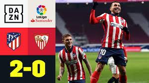 Correa und Saúl bauen Vorsprung auf Real aus: Atlético Madrid - FC Sevilla  2:0   LaLiga