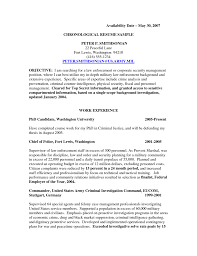 Fantastic Background Investigator Resume Objective Contemporary