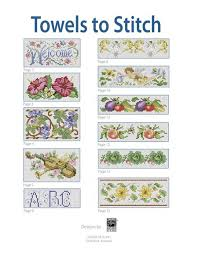 new 869 cross stitch patterns for baby towels cross stitch pattren