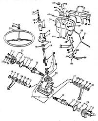 steering gear parts for ford 8n tractors (asn 216988) ford tractor owners manual download at 8n Ford Tractor Diagrams