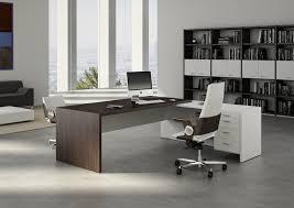 image of smart modern office desks
