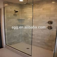 glass shower walls endearing in half wall enclosures belfast four in glass shower walls