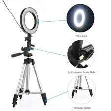 Big Ring Light With Stand Buy Ha 10 Inches Big Led Ring Light 3110 Tripod Stand For