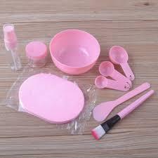 DIY Mask Skin Care Kit Medium <b>9 Piece</b> Mask Mask <b>Bar</b> Brush ...