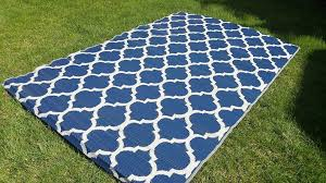 outdoor rugs made from recycled plastic santa barbara collection 100 reversable area rug white navy blue trellis x in usa oval mats and green woven