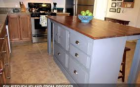 Perfect Diy Kitchen Island From Dresser A The To Innovation Ideas