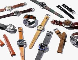 The 12 Best Leather <b>Watch Straps</b> You Can Buy • Gear Patrol