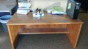 desks property surplus state university small wood computer desk wooden oak corner rustic for bedroom glass shaker wood table desk