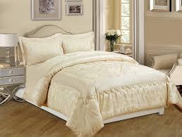 3 Piece Jacquard Quilted Bedspread Comforter, Pillow Shams,Luxury ... & 3 Piece Jacquard Quilted Bedspread Comforter, Pillow Shams,Luxury Bed Set+  Free P & P (Betty Cream, King): Amazon.co.uk: Kitchen & Home Adamdwight.com