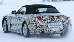 2018 bmw z4 release date. simple date 2018bmwz4spyshotsrearviewtaillights for 2018 bmw z4 release date