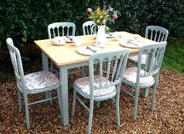 shabby chic dining room table and chairs shabby chic dining room set white dining table by