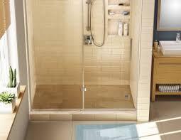 tile redi single curb shower pan left drain 3460l