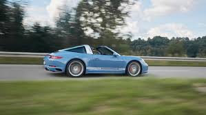 Porsche Exclusive Works Its Magic On 911 Targa 4S Design Edition