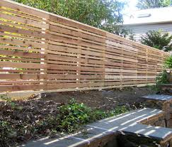 white horizontal wood fence. Sweet Goldenrod Horizontal Wooden Backyard Fence Ideas Mixed Wth Stone Vertical Placement Also Lush Plants White Wood S
