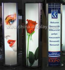 Led Light Box Display Stand Outdoor Picture Frame Fix Led Floor Standing Acrylic Light Box 71