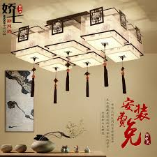 chinese style living room ceiling. Simple Chinese Buy Jiao Seven New Chinese Wind Ethnic Style Living Room Ceiling  Lamp Modern Minimalist Atmosphere Restaurant Bedroom Study In Cheap Price On  Intended