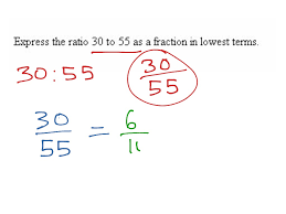ratios in fraction form ratio to fraction to simplest form math arithmetic fractions