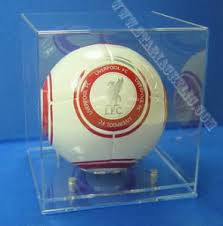 Football Display Stand Plastic China Modern Acrylic Football Display Case With A Clear Base 49