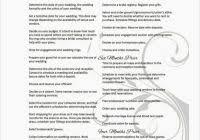 Printable Wedding Timeline Checklist 7 Best Of Printable Wedding Timeline Checklist 12 For Wedding
