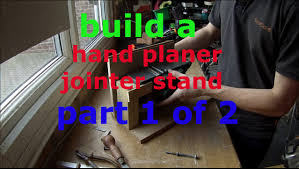 electric hand wood planer. bench mount for power planer, jointer part 1 (of 2) electric hand wood planer l