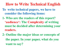 Technical Reading Writing Ppt Download