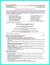 Cyber Security Resume 1 Must Be Well Created To Get The Job Position