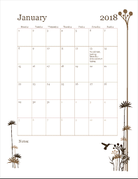mothly calendar 2018 12 month calendar mon sun office templates