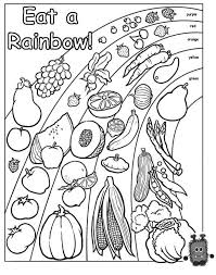 Small Picture Nutrition Coloring Pages at Children Books Online