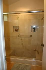 custom framed shower and bath doors