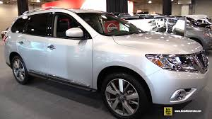 2015 nissan pathfinder white. 2015 nissan pathfinder platinum awd exterior and interior walkaround new york auto show youtube white 3