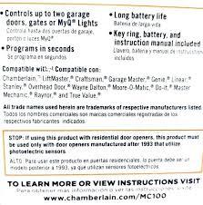 how to reset er garage door remote chamberlain keypad programming how to reprogram er wireless garage door opener programming er remote