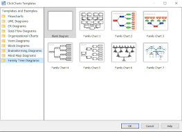 Click Chart Diagram Introducing Family Tree Diagrams To Clickcharts Diagram
